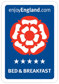 Enjoy England 4 Star rated Bed and Breakfast