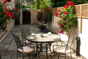 Enjoy Breakfast on our patio